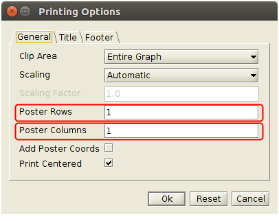How To Print Out A Graph Over More Pages Yed Q