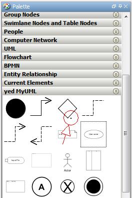 user palette